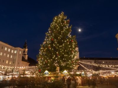 Christkindlmarkt Salzburg - Residenzplatz